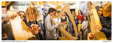 Children Celtic Harp Orchestra