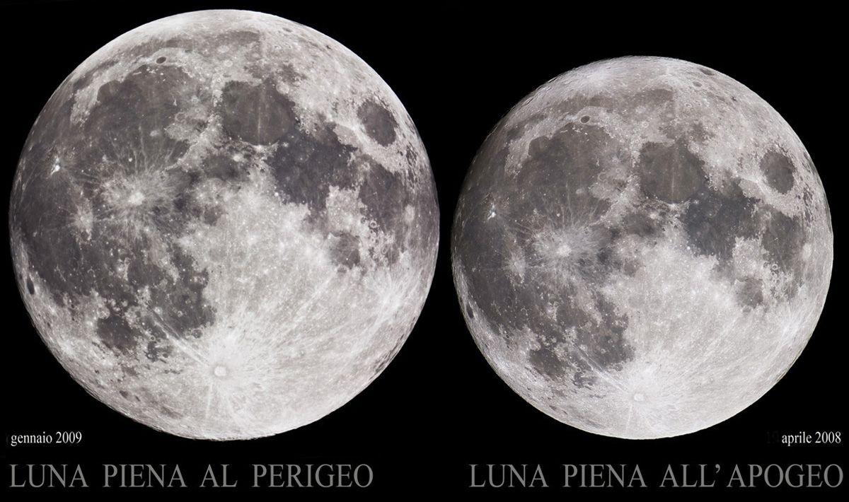 Ma che bella Luna !!! E' grandissima !!