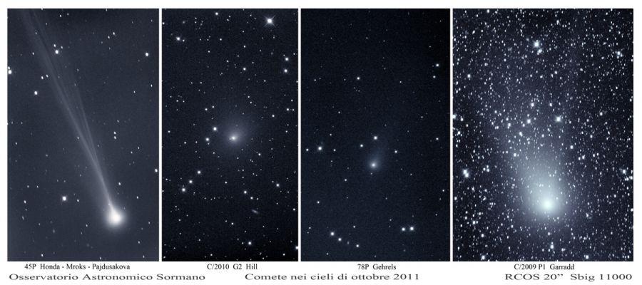Comete di Ottobre
