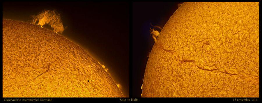 Braccio di ferro sul Sole