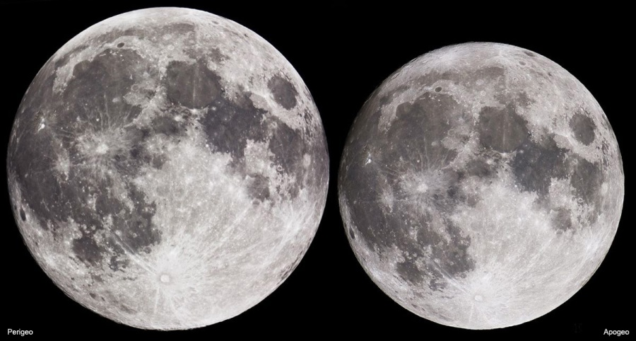 Super Luna nel week-end