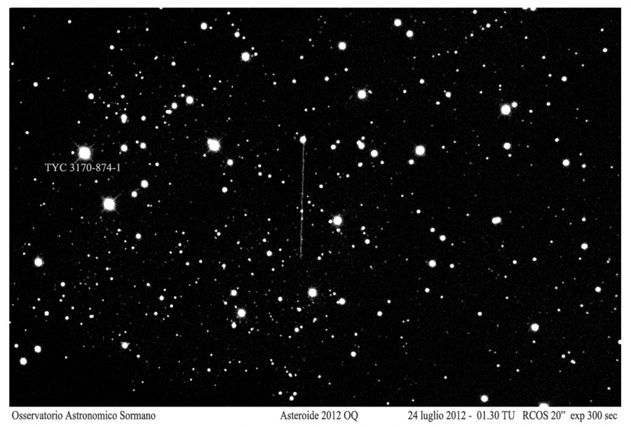 Asteroide 2012 OQ