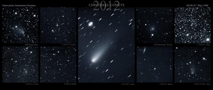 Christmas Comets  2012