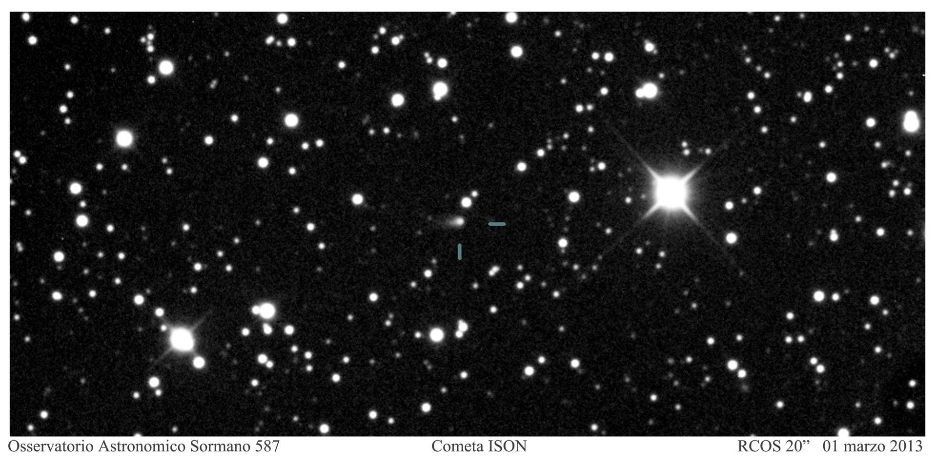 C2011 L4 Pan-STARRS e ISON