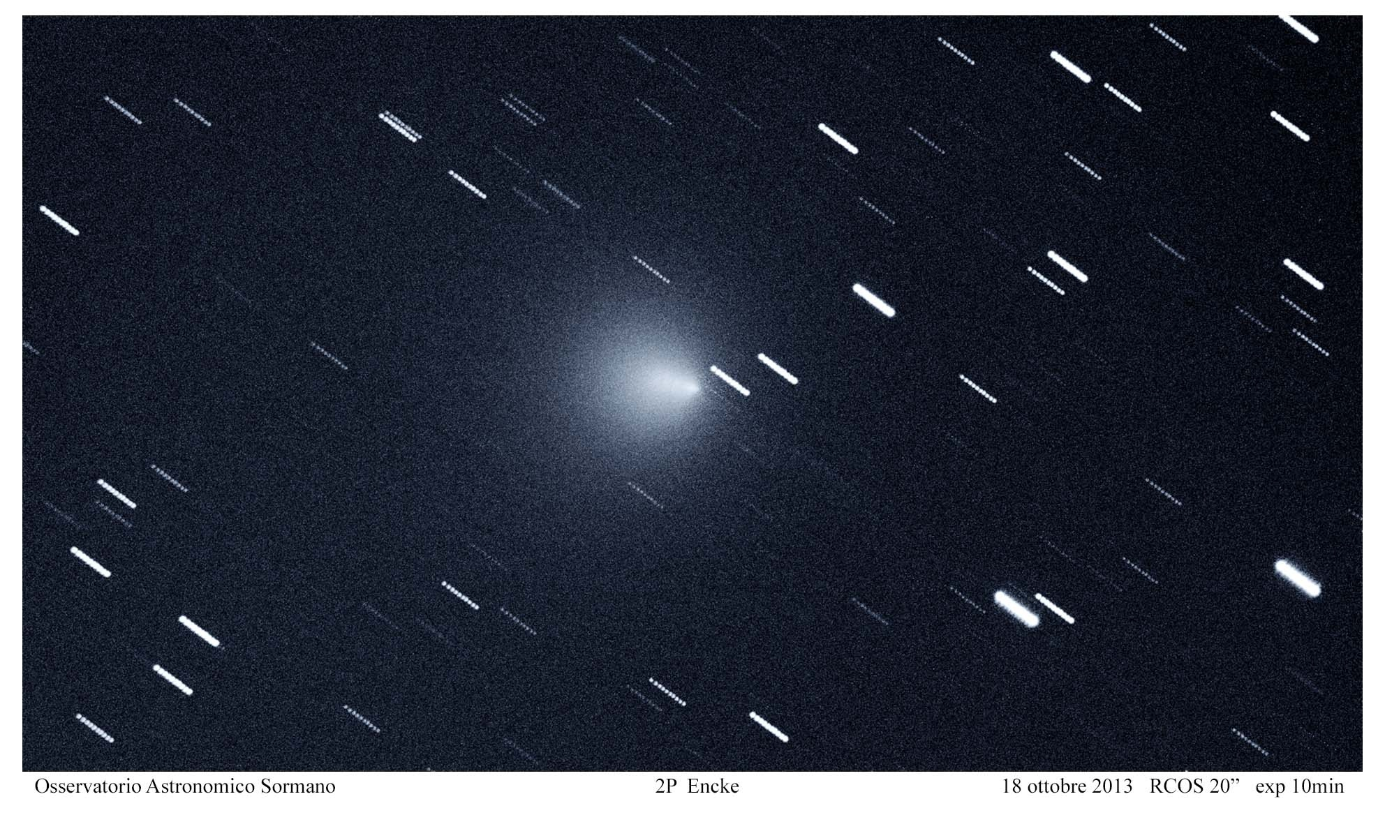 ISON, Encke e Lovejoy