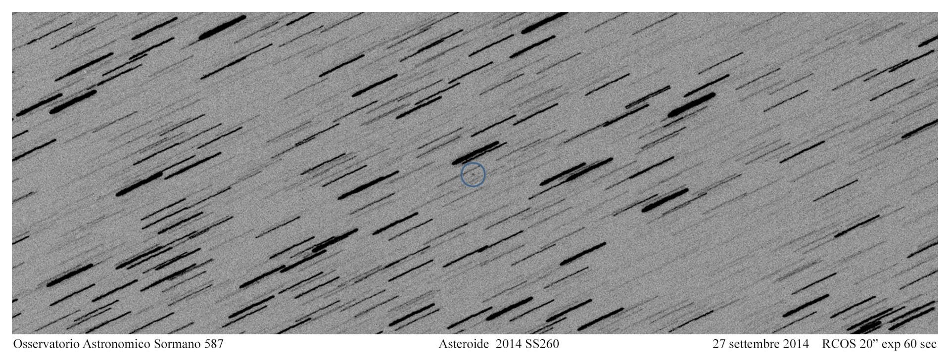 Asteroide 2014 SS260