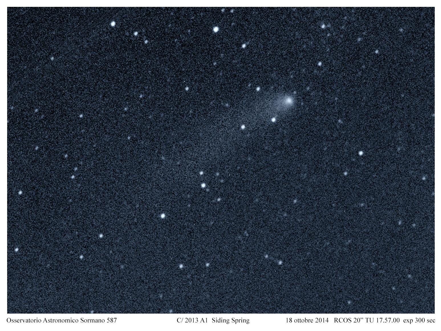 Marte e la cometa C2013 A1