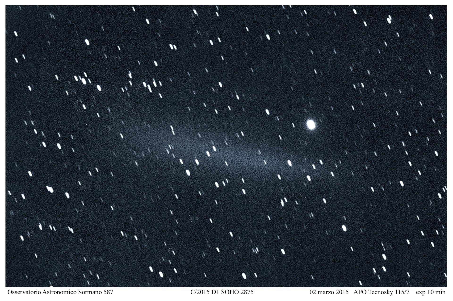 Il fantasma della cometa