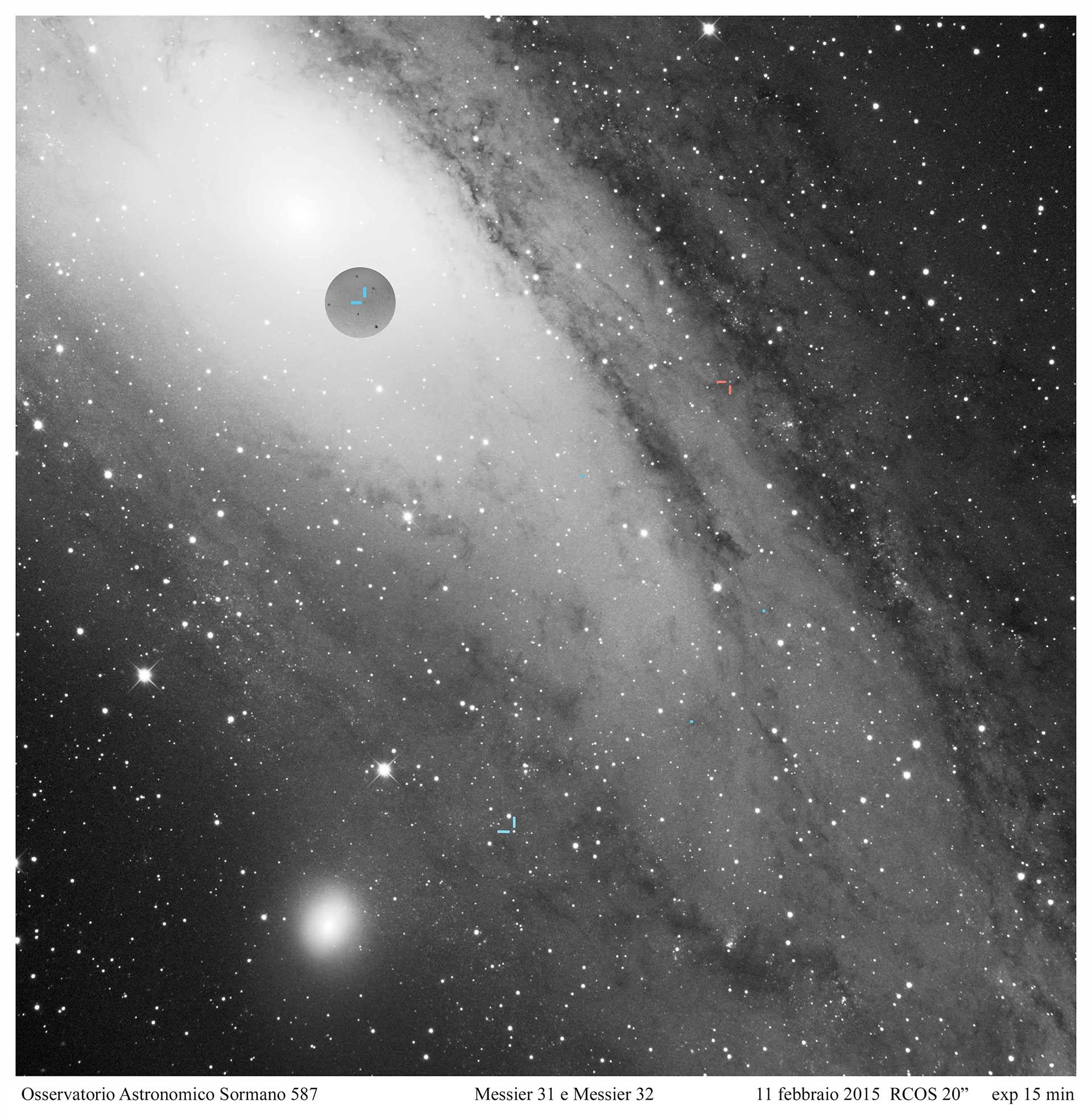 Nove e Cefeidi, i mille volti di M31