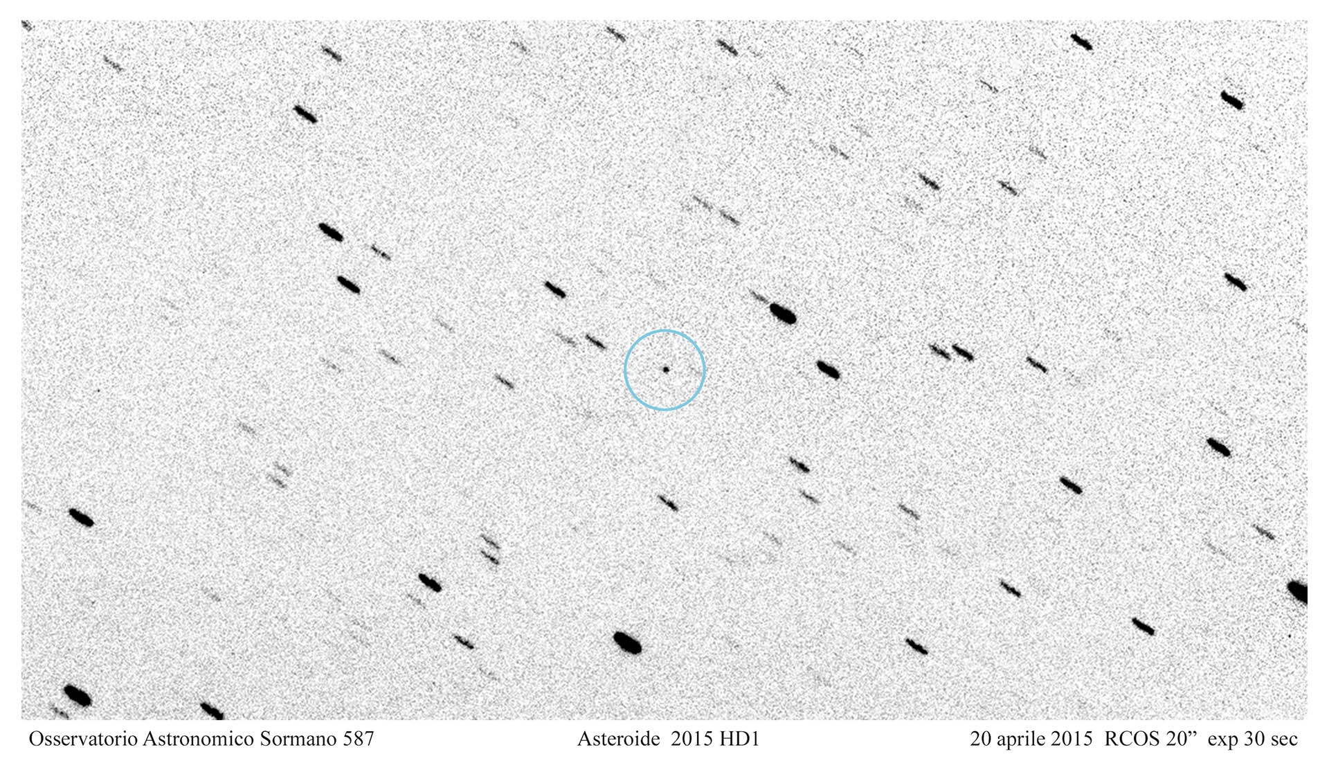 Asteroide 2015 HD1
