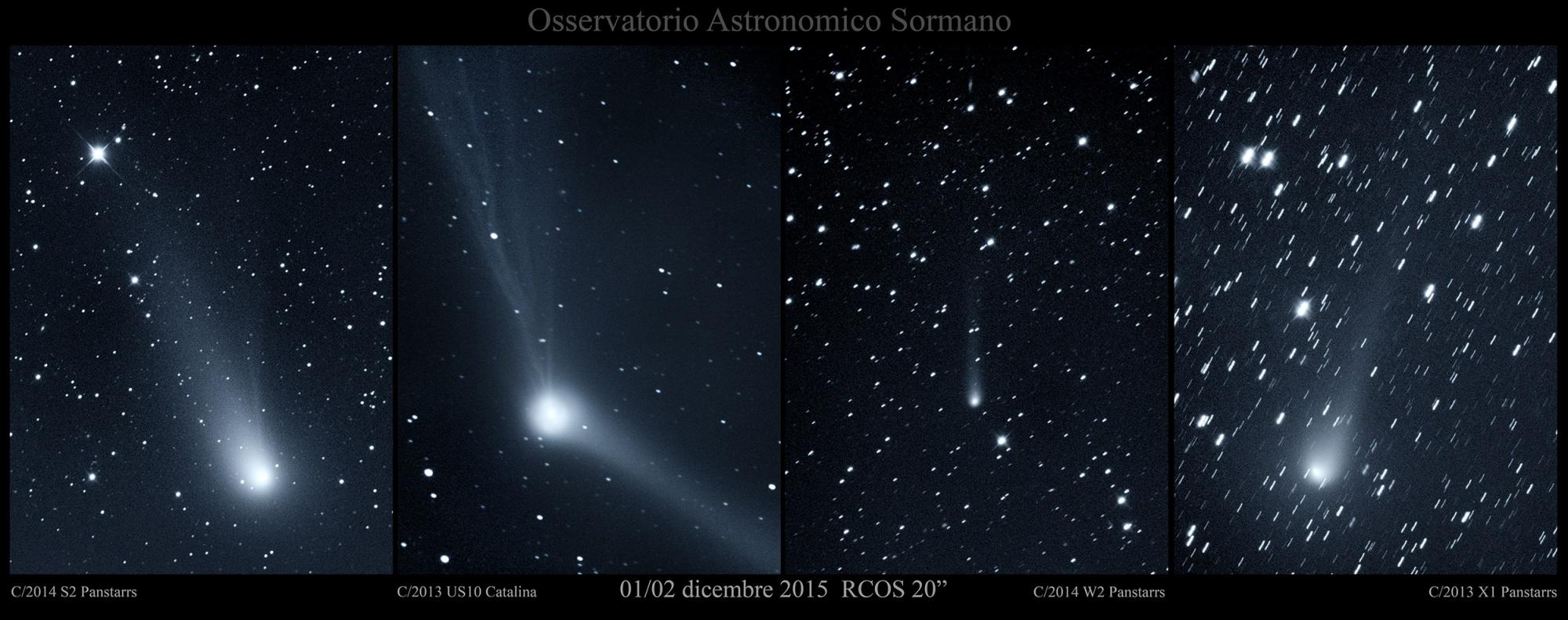 Le comete Natalizie