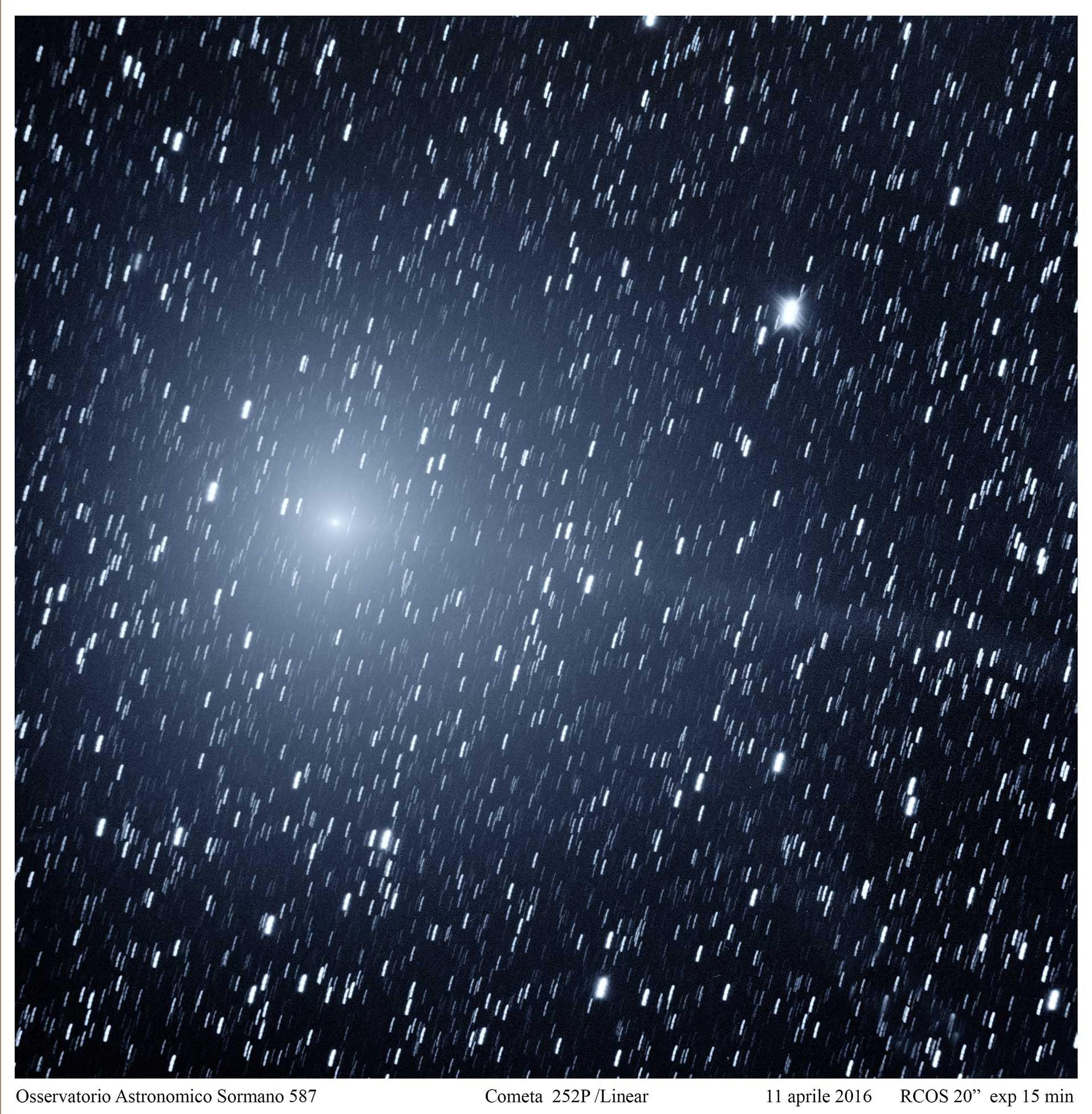 Cometa 252P LINEAR