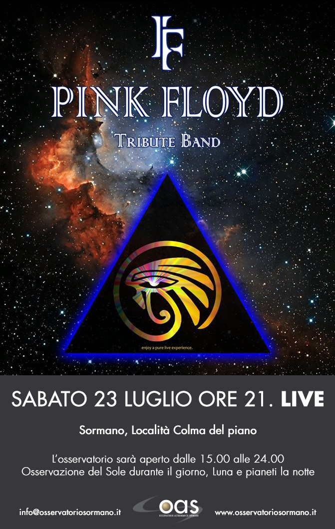 Sabato 23 Luglio - The Great Gig in the Sky