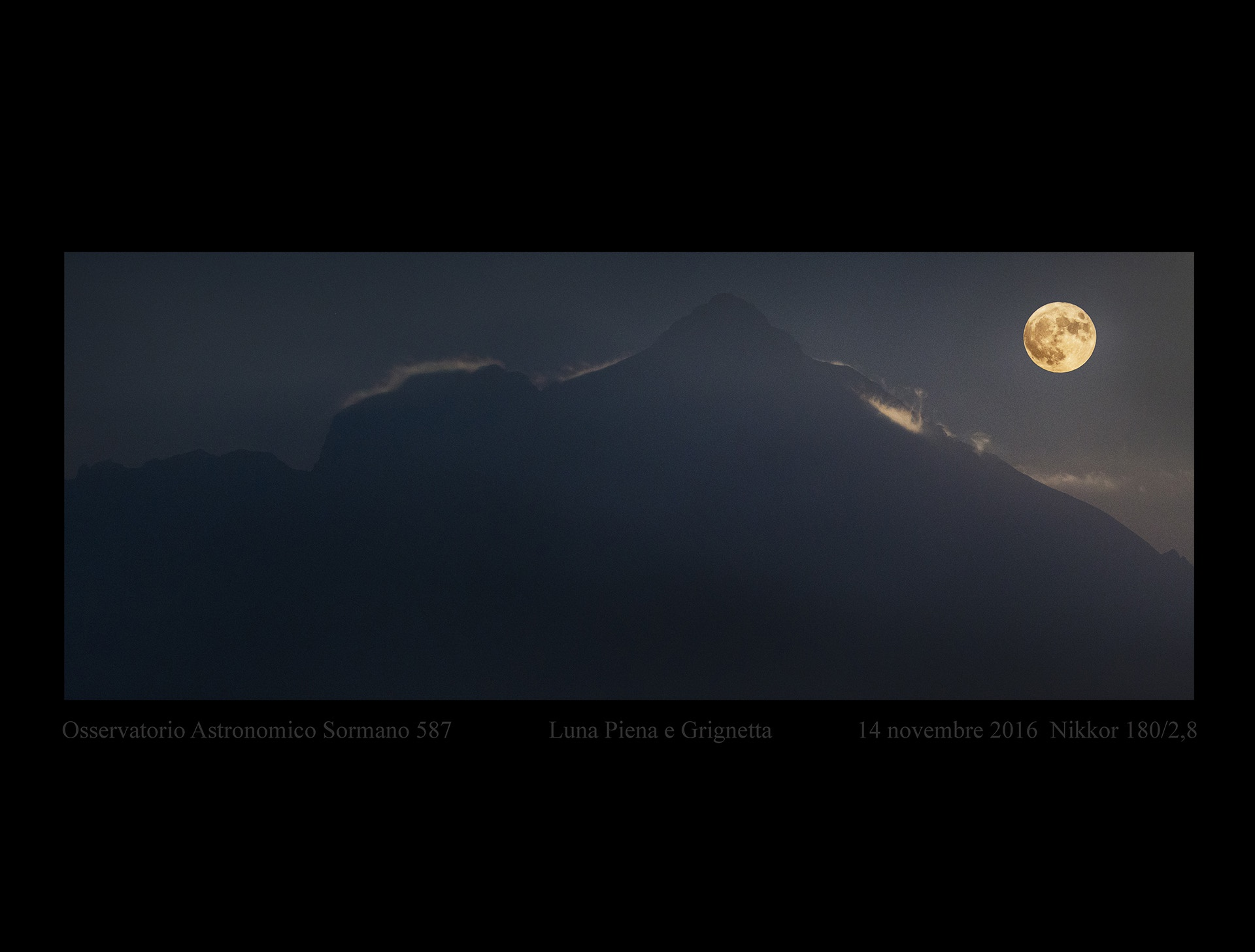 La supersupersuperluna del 14 novembre 2016