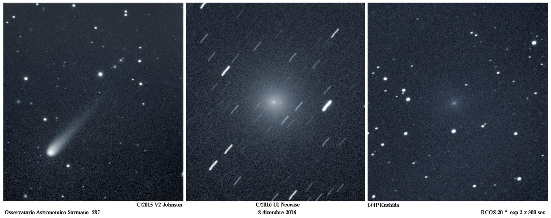 Le Comete di Natale 2016