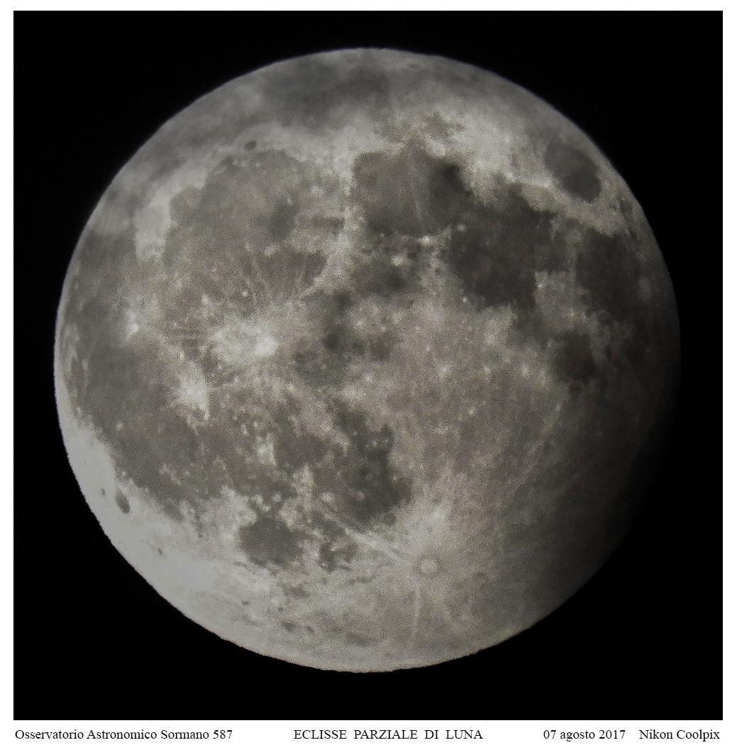 Eclissi parziale di Luna del 7 agosto 2017