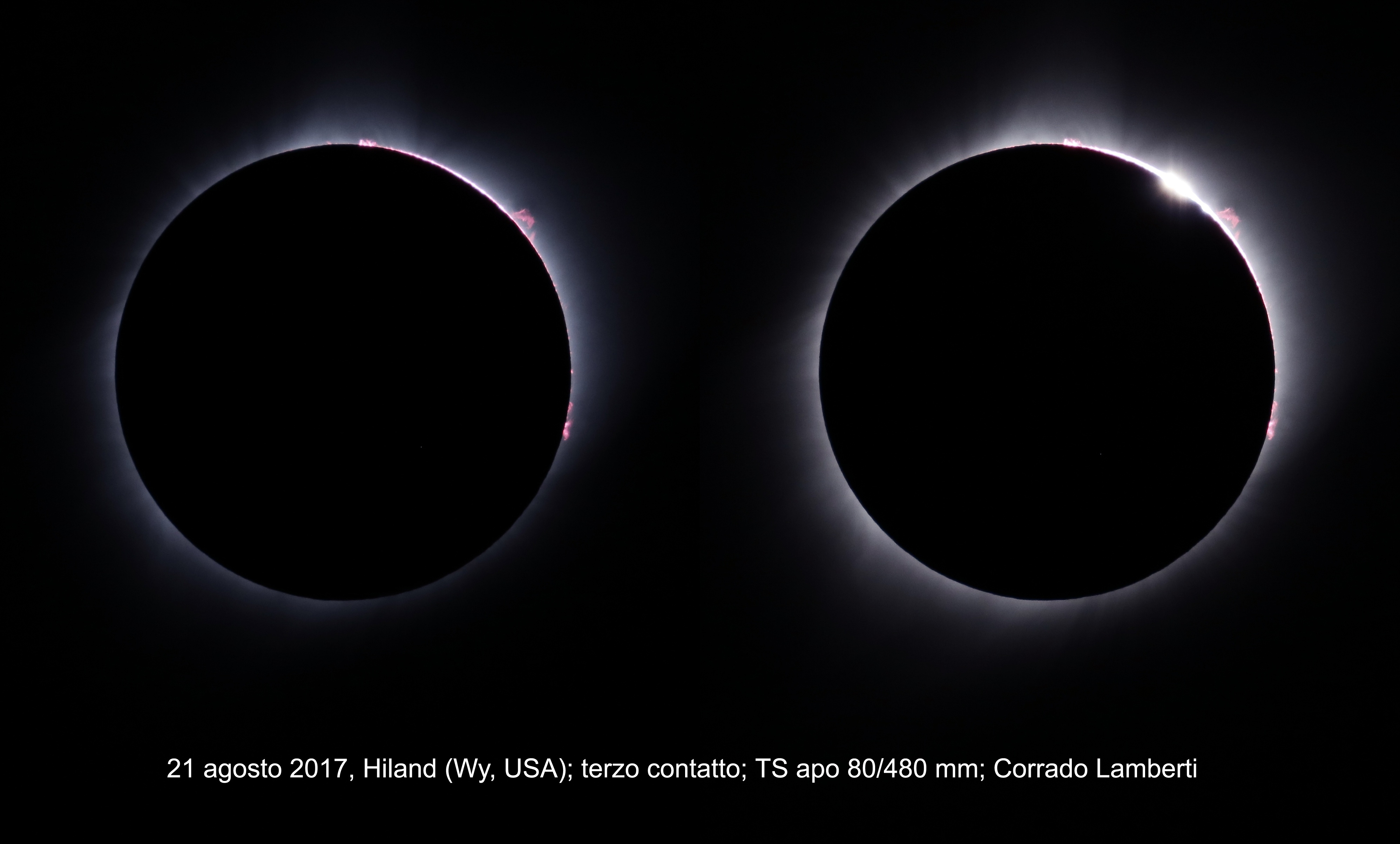 Eclissi totale di Sole del 21 agosto 2017