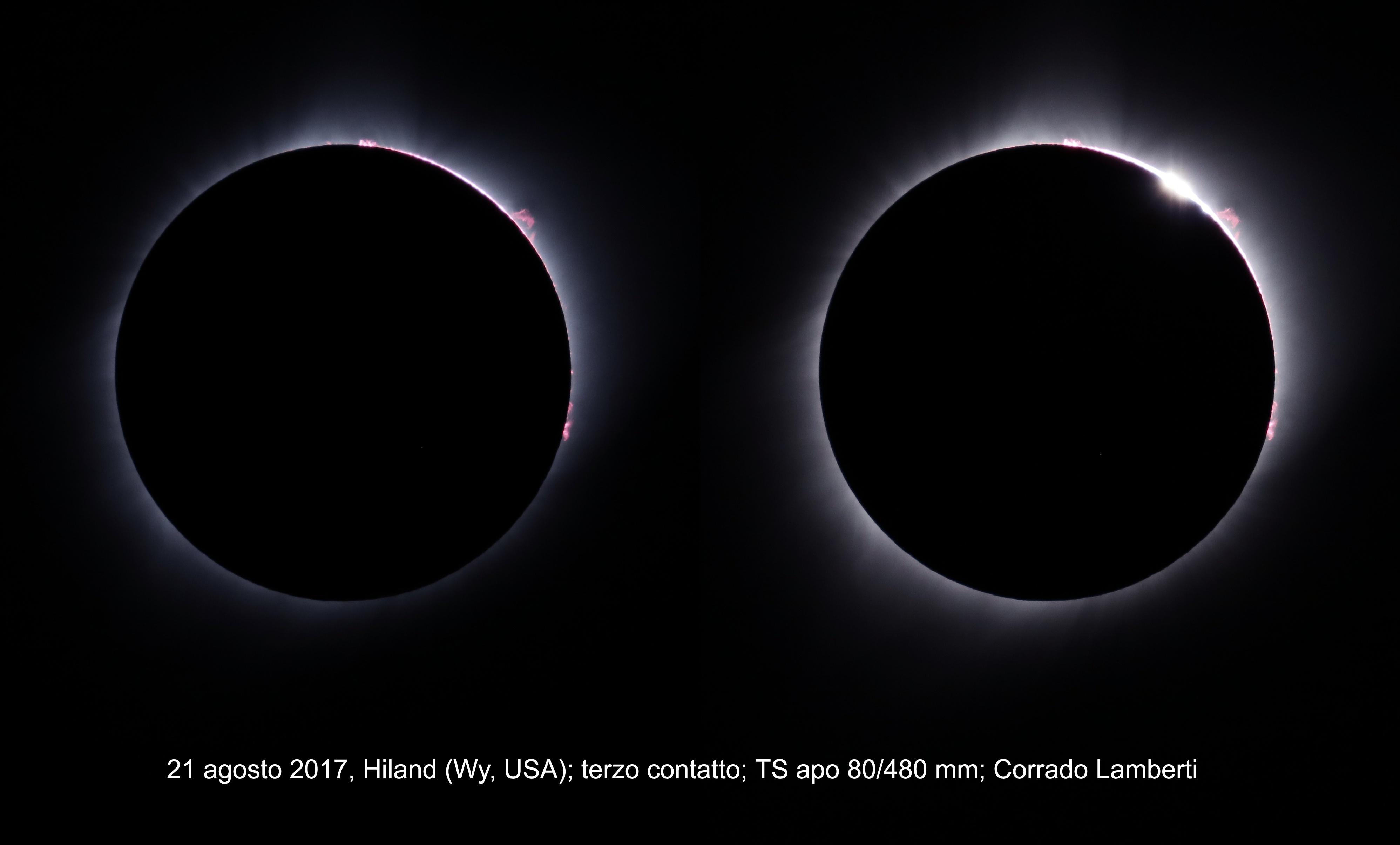 Eclissi totale di Sole del 21 agosto 2017