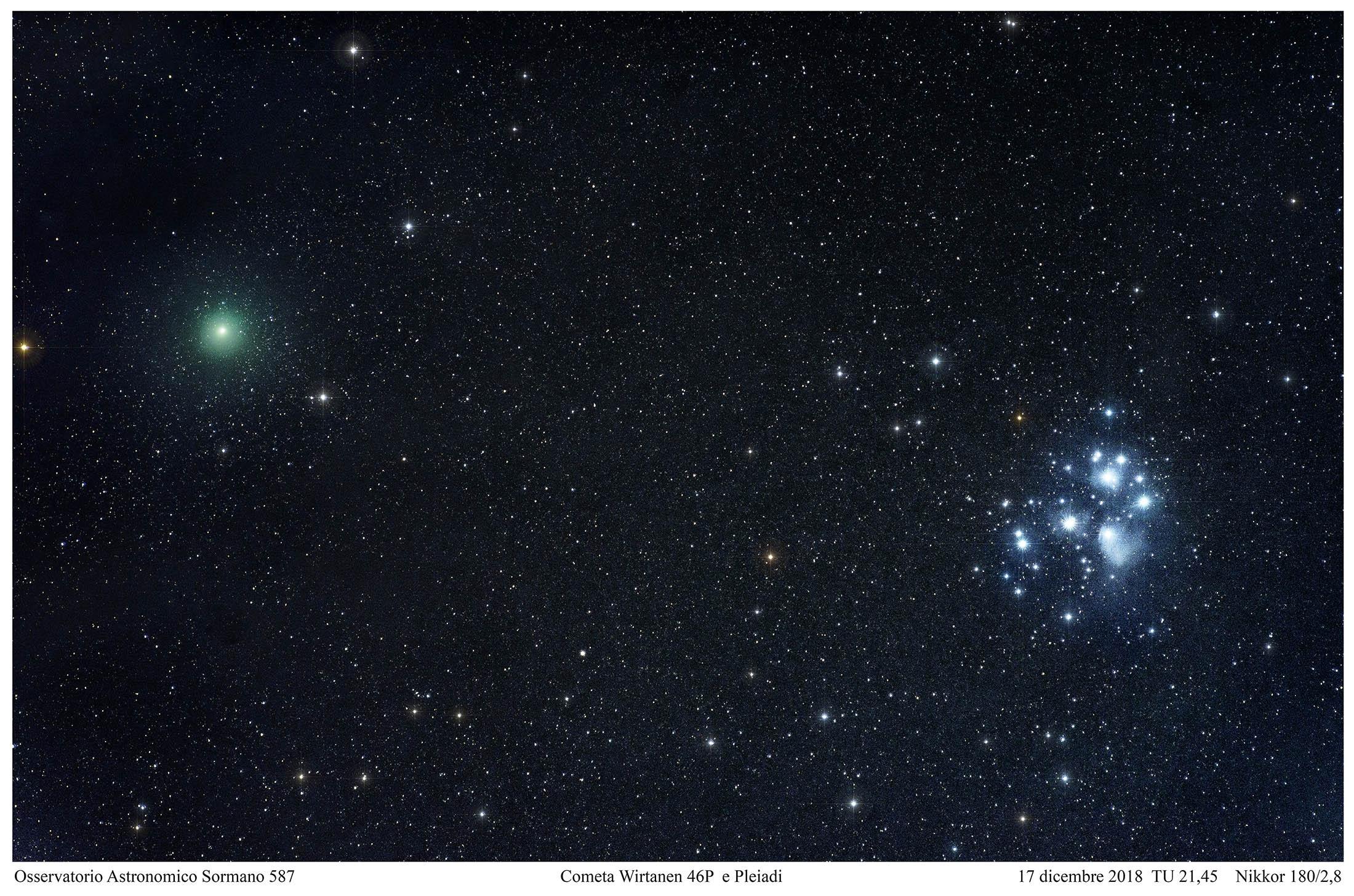 Due comete per un Natale speciale