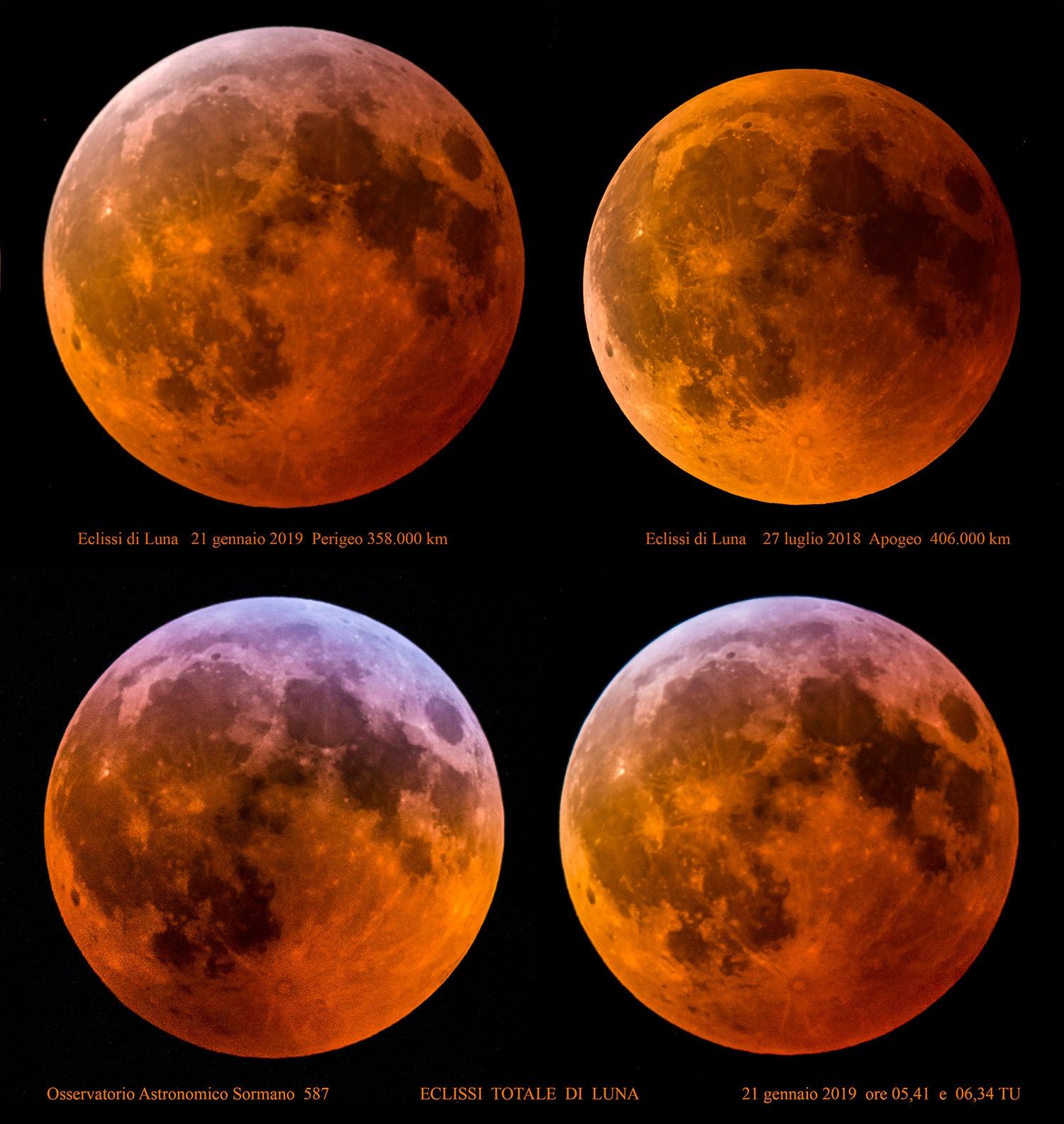 Una Luna non solo rossa