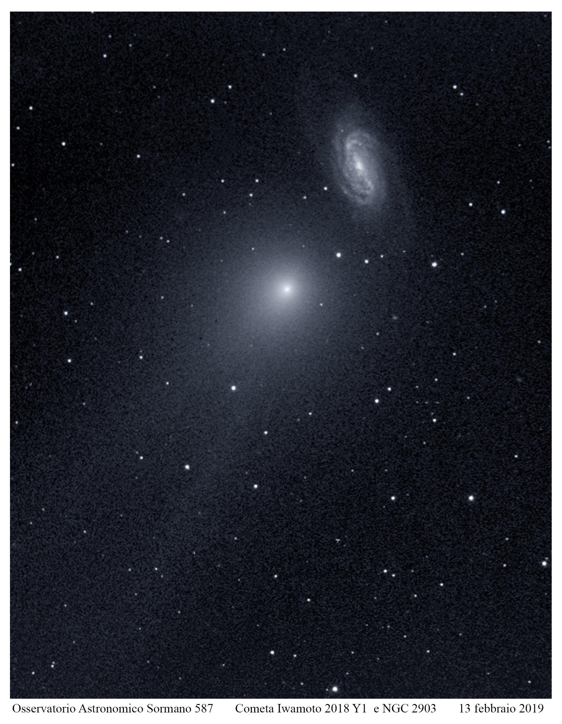 Cometa Iwamoto C2018 Y1