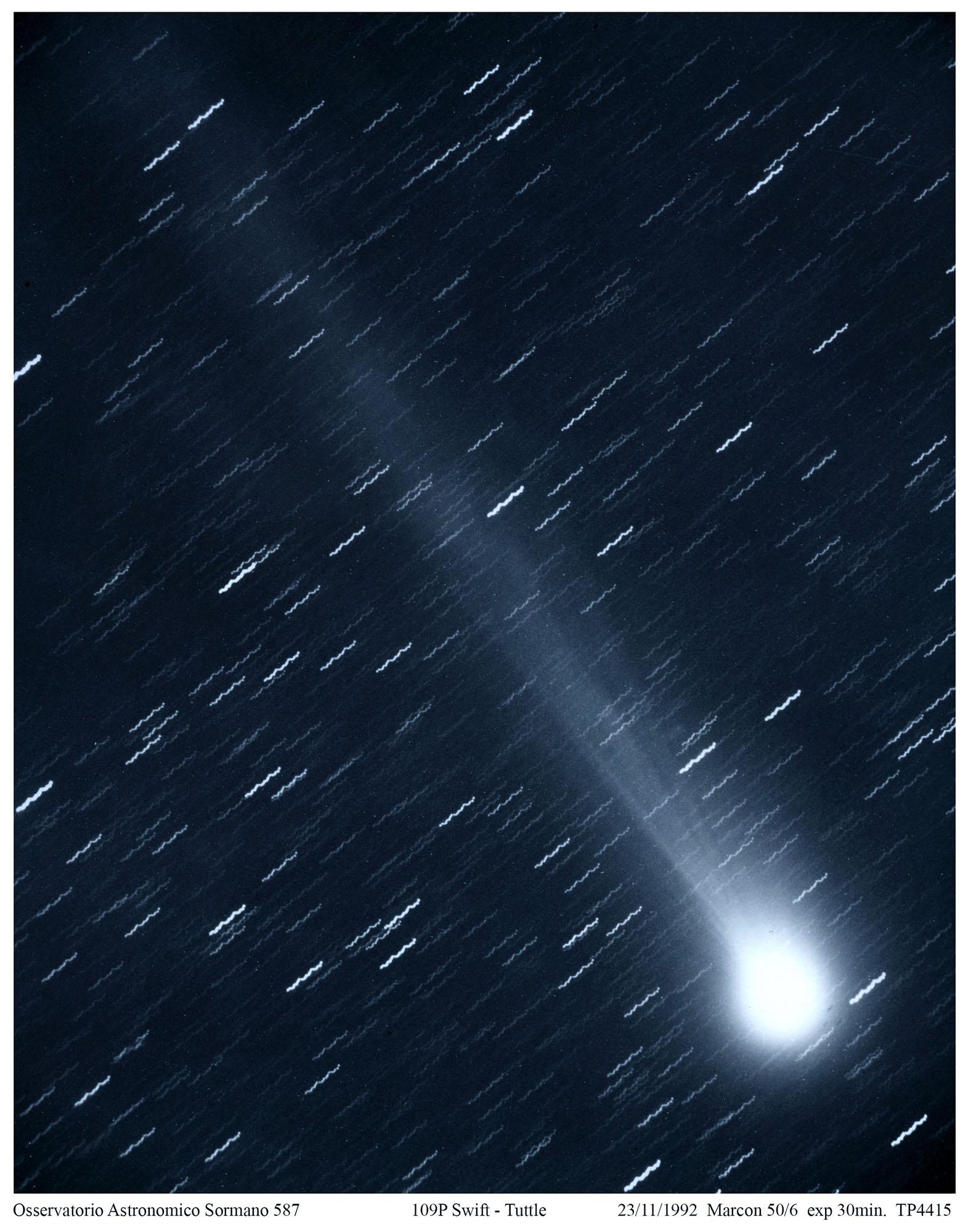 S. Lorenzo, stelle cadenti, una cometa e due astronomi.