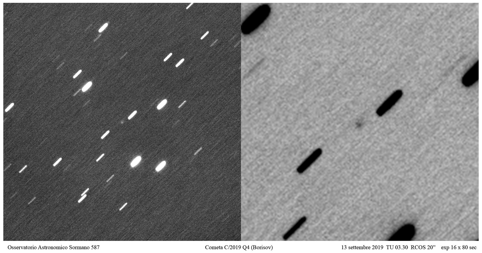 C/2019 Q4 (Borisov), la cometa interstellare