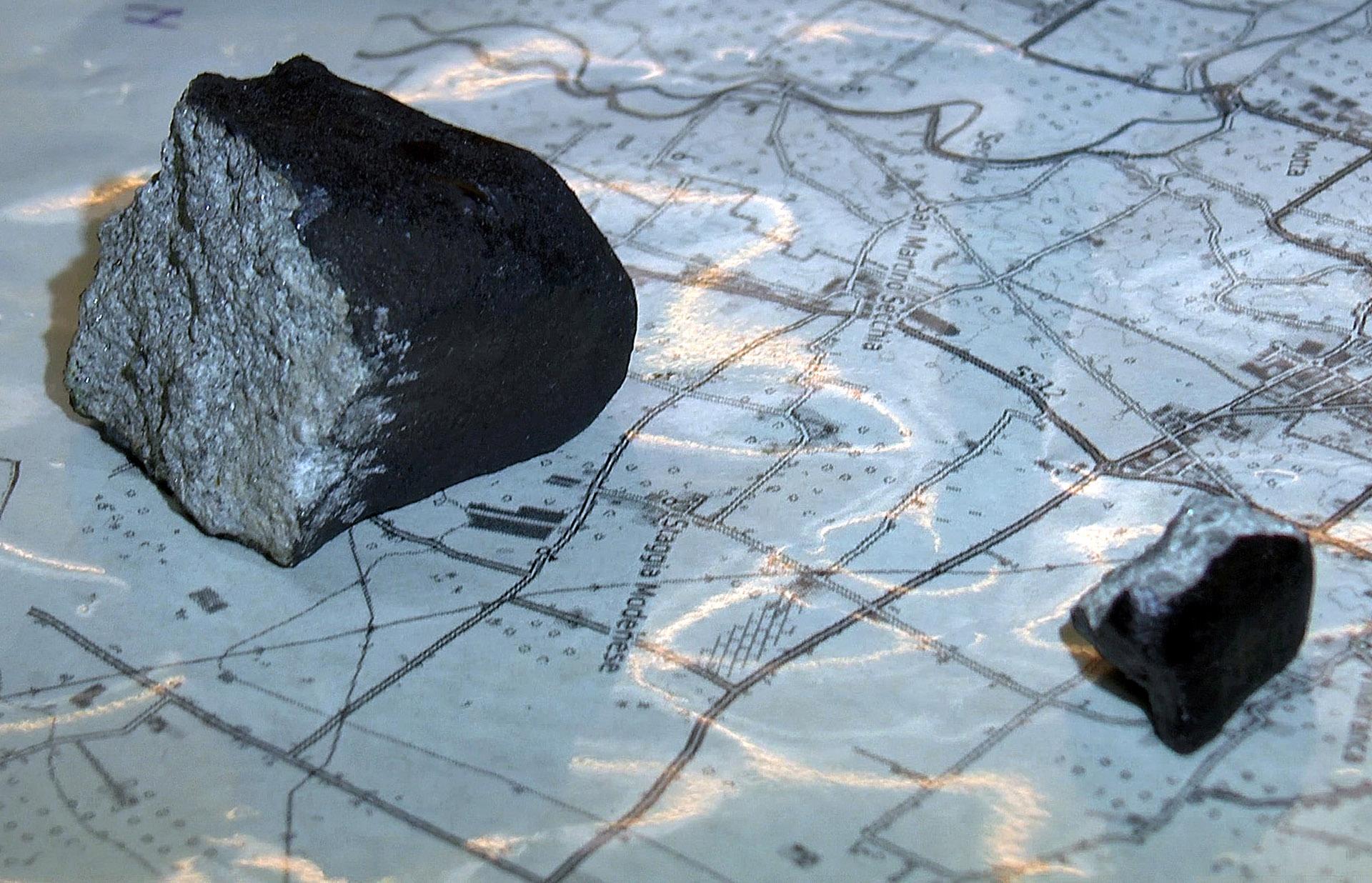 Le meteoriti di Capodanno