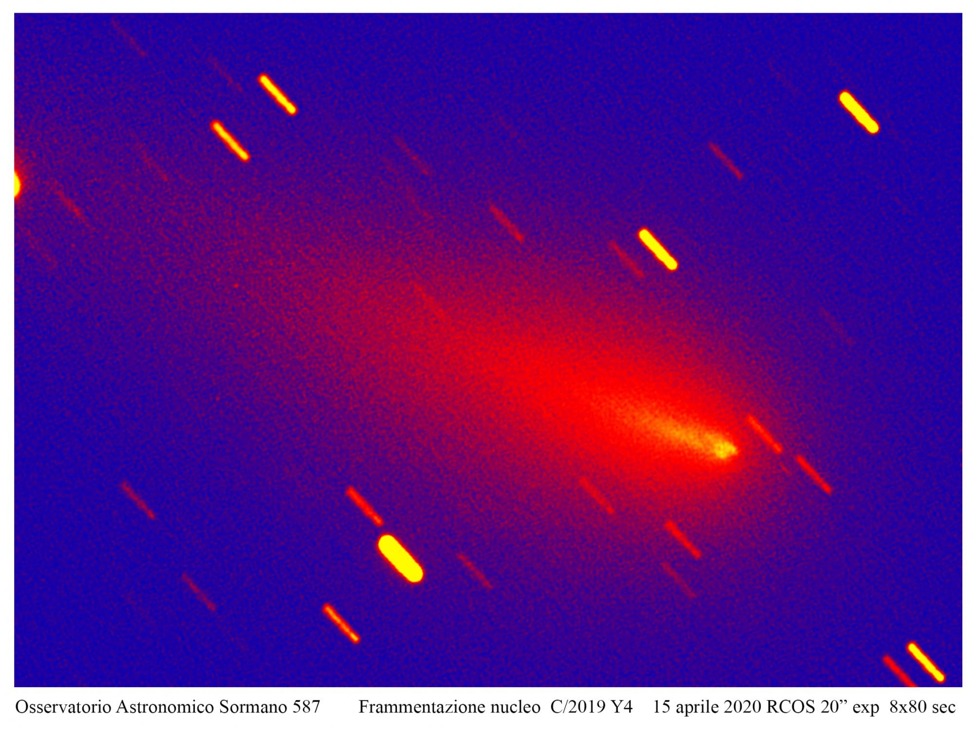Atlas, il destino di una cometa