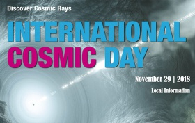 International Cosmic Day 2018