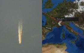 La palla di fuoco osservata in cielo il 27 luglio 2020: Bolide o 'Space debris'