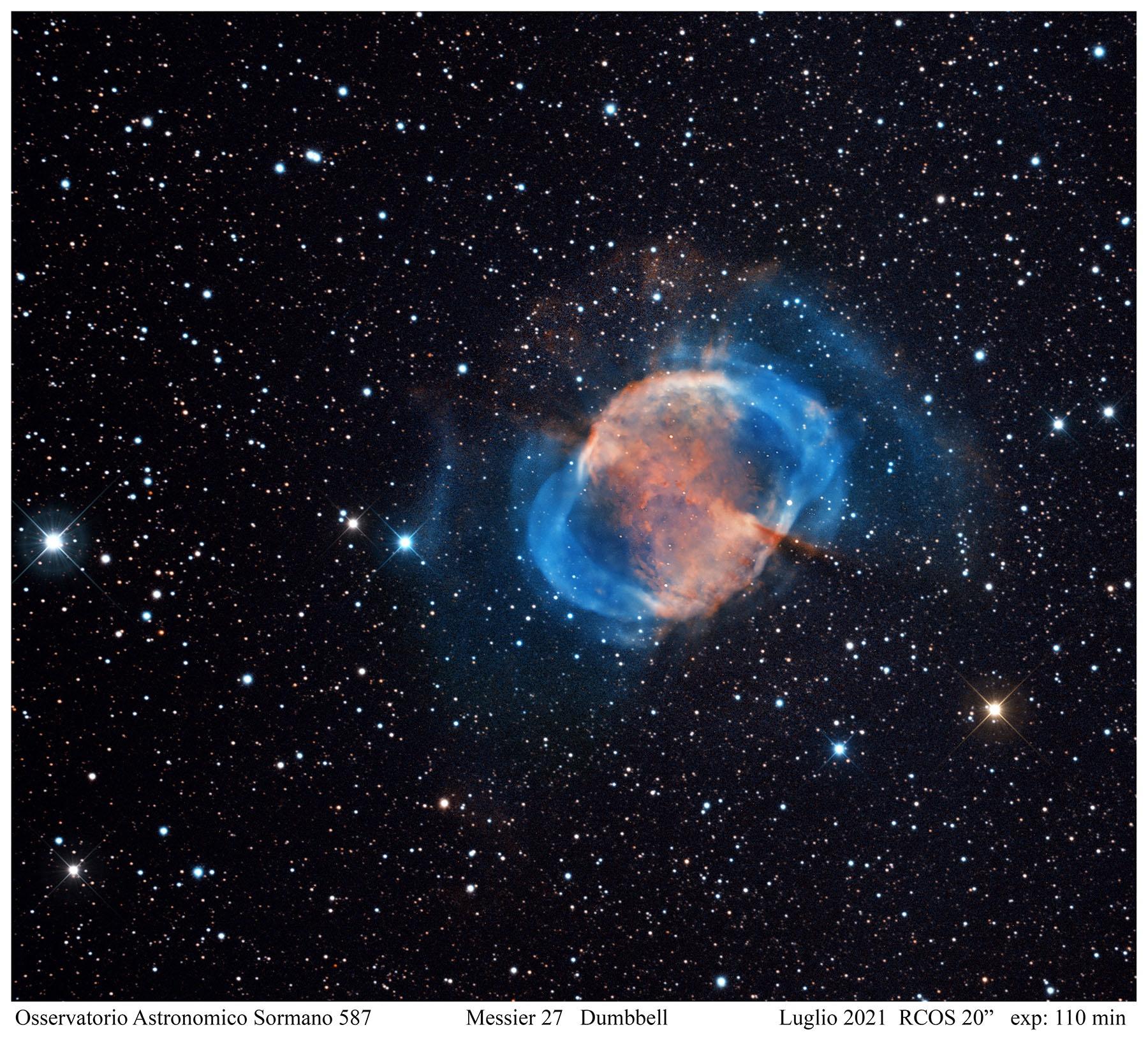 M27 , Dumbbell nebula