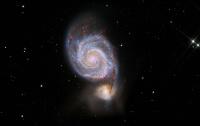 Messier 51: La galassia vortice