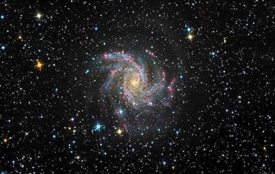 Fuochi d'artificio stellari