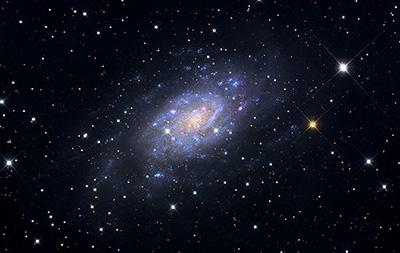 NGC 2403: La banalità di essere unici