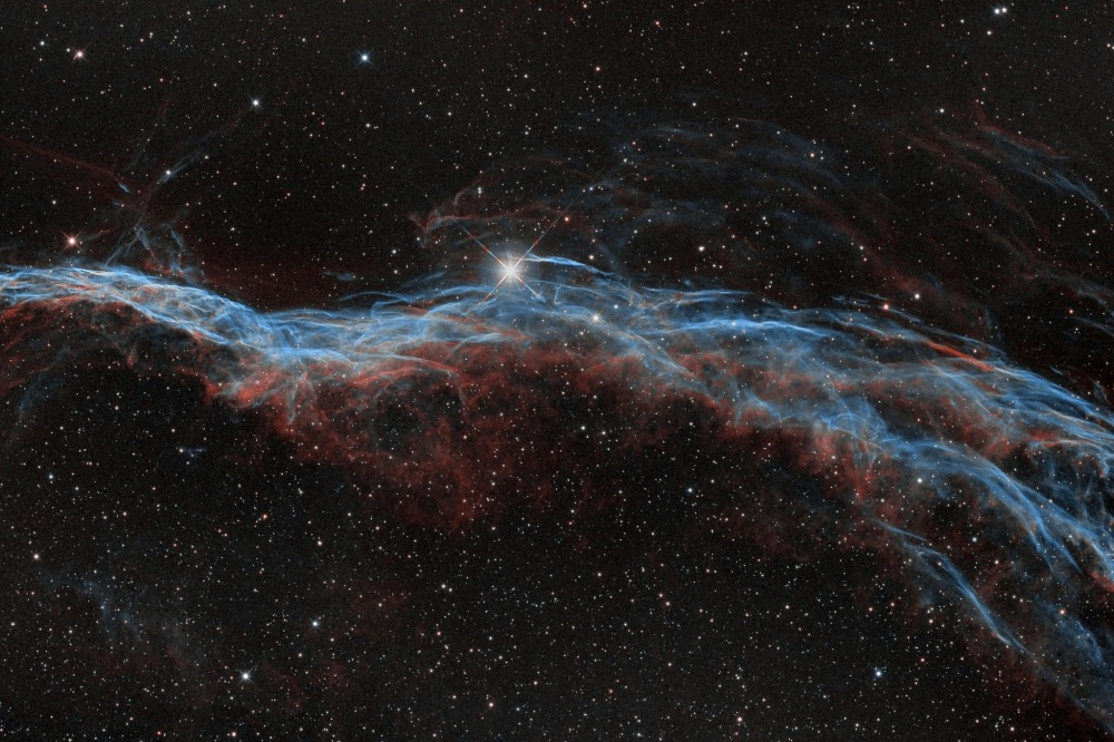 NGC6960 - The Veil Nebula around 52 Cyg