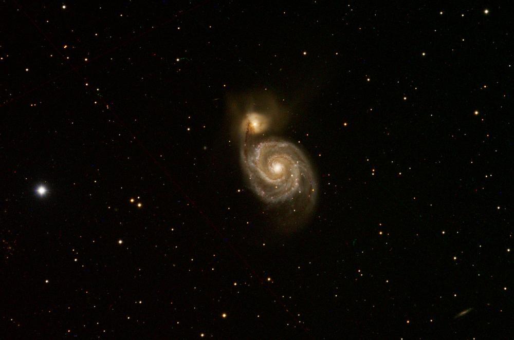 M51galassia Vortice
