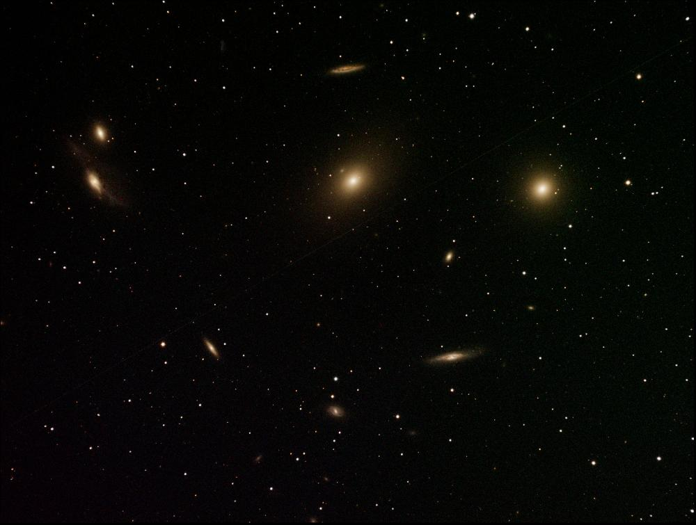 M84 + M86 + altre galassie NGC