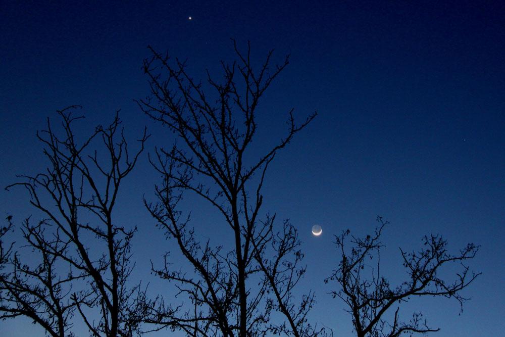 La Luna a barchetta
