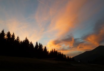 tramonto alla colma