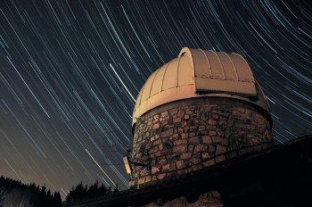 Startrail Osservatorio Astronomico Sormano