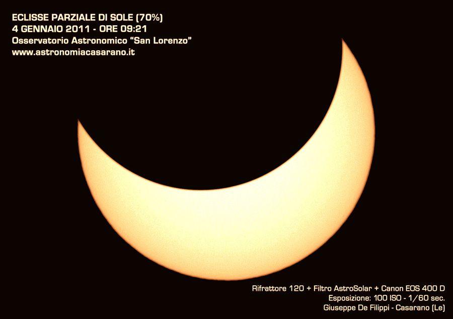 Immagine 1 - Eclissi, appuntamento rimandato !!