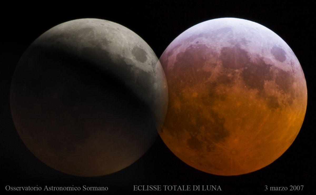 Immagine 1 - Eclissi totale di Luna