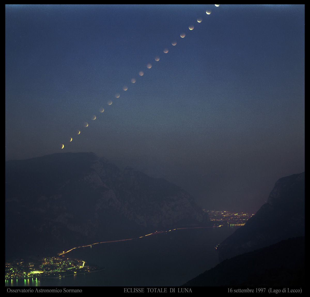 Immagine 2 - Eclissi totale di Luna