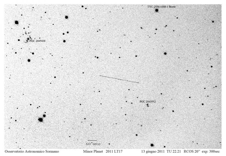Immagine 1 - L'asteroide dell'eclissi