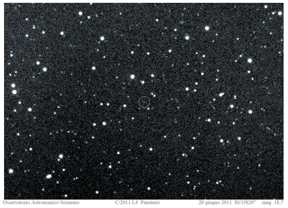 Immagine 2 - Le Comete Garradd e  Panstarrs