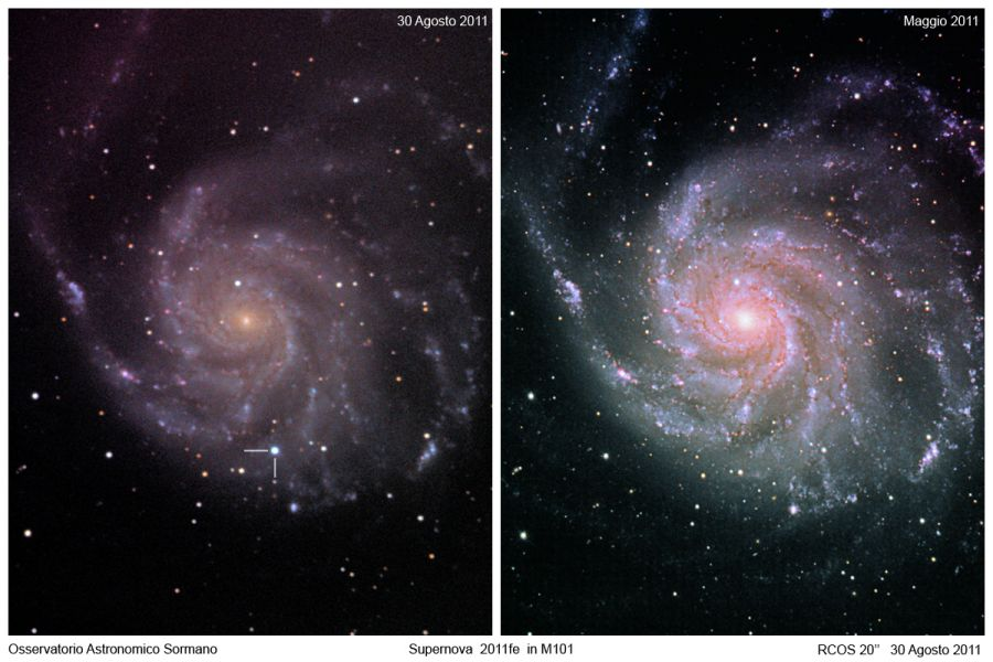 Immagine 1 - La Super-Supernova