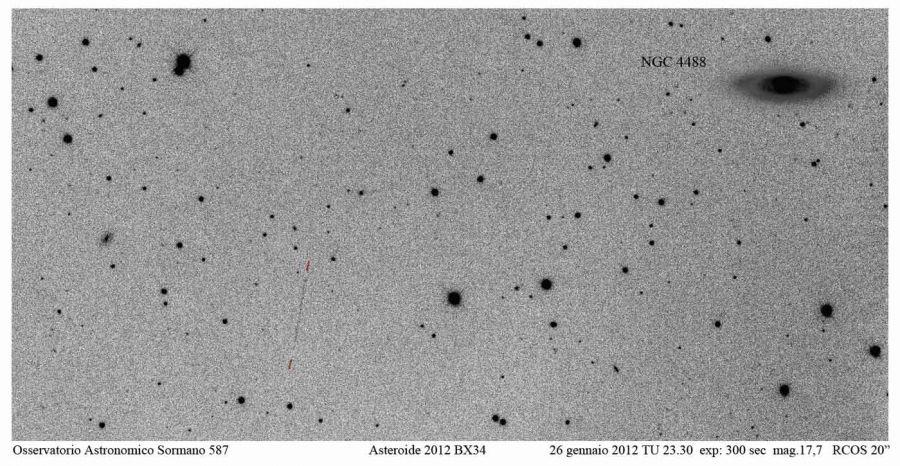 Immagine 1 - Incontri ravvicinati: 2012 BX34
