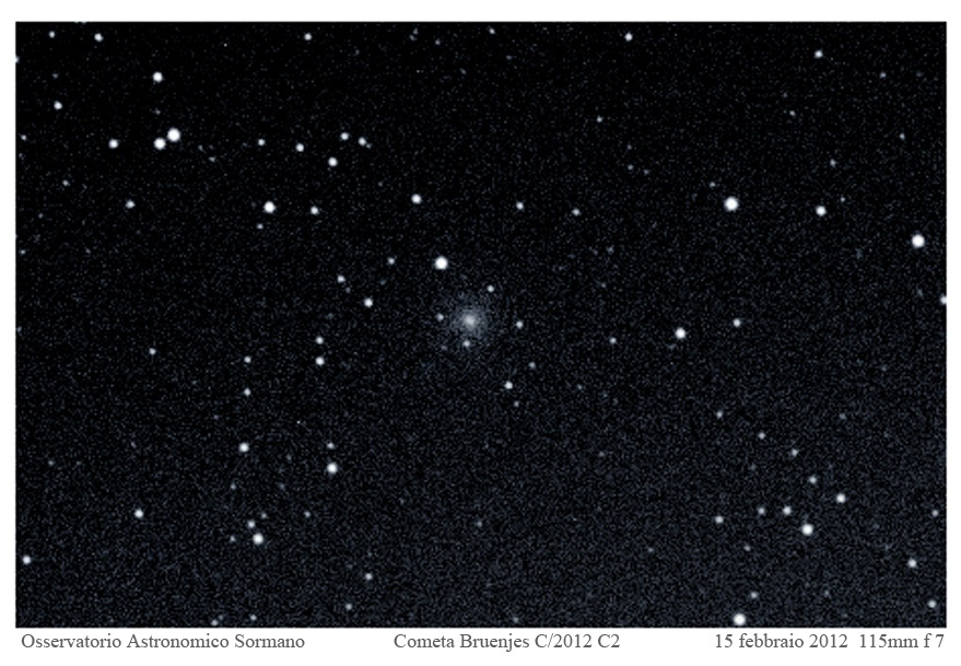 Immagine 1 - Cometa Bruenjes