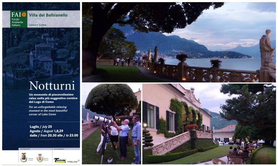 Immagine 1 - Notturni in Villa del Balbianello
